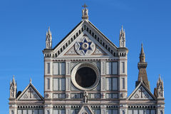 Santa Croce cathedral, world heritage site, detail Royalty Free Stock Photography