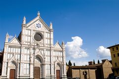 Santa Croce church Royalty Free Stock Images