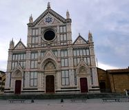 Santa Croce church Stock Photos