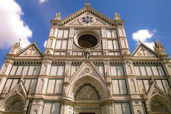 Santa Croce Church, Florence Stock Photography