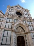 Santa Croce church in Florence - Italy Royalty Free Stock Images