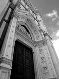 Santa Croce church in Florence - Italy Stock Photo