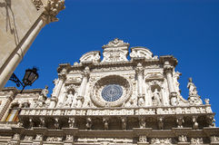 Santa Croce church, Lecce, Apulia, Italy Royalty Free Stock Photos