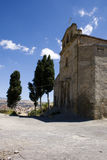 Santa croce church, Leonforte Stock Image