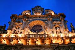 Santa Croce Church at night Royalty Free Stock Photos