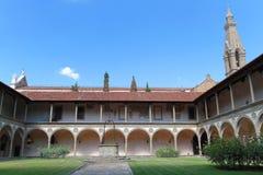Santa Croce convent Stock Photography