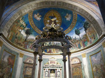 Santa Croce em Gerusalemme, Roma Imagem de Stock