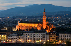 Santa Croce, Florença, Toscânia Fotos de Stock Royalty Free