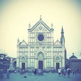 Santa Croce in Florence Stock Image