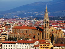 Santa Croce, Florence, Italy Royalty Free Stock Images