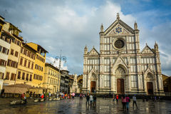 Santa Croce - Florence, Italy Stock Image