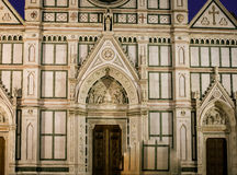 Santa Croce Florence Italy Stock Photo