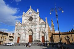 Santa Croce, Florencia Imagen de archivo
