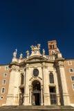 Santa Croce i Gerusalemme royaltyfria foton