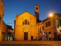 Santa Croce-Kirche in Settimo Torinese stockfoto