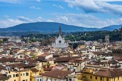 Santa Croce kościół Fotografia Stock