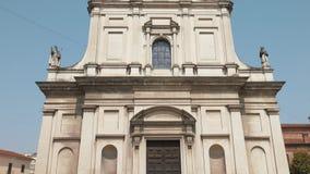 Santa Croce kościół w Mortara, PV, Włochy zbiory