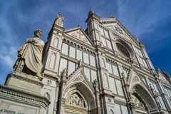 Santa Croce. Pantheon in Florence, Italy Stock Image