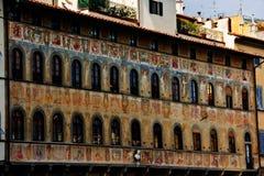 Santa Croce square. Building on the Santa Croce square. Florence. Italy Stock Photo