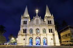 Santa Cruz Basilica immagine stock libera da diritti