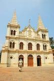 Santa Cruz Baslica, Kochi, la India imagen de archivo libre de regalías