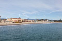 Santa Cruz Beach Boardwalk Royalty Free Stock Image