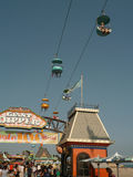 Santa Cruz Beach Boardwalk Amusement Park Royalty Free Stock Photography