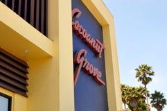 SANTA CRUZ BEACH BOARDWALK, SANTA CRUZ, CALIFORNIA, USA - July 22, 2015. The famous Cocoanut Grove Ballroom at the Santa Cruz Beach Boardwalk, California stock image