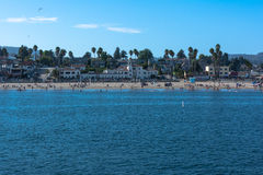 Santa Cruz Beach, California Stock Photos