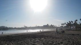 Santa Cruz beach stock photography