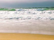 Santa Cruz Beach Shore View Arkivfoto