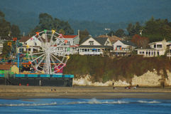 Santa Cruz Boardwalk Royalty Free Stock Photos