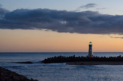 Santa Cruz Breakwater Light Photos stock
