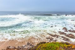 Santa Cruz.  California Royalty Free Stock Photos