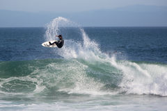 Santa Cruz, California Surfing Stock Images