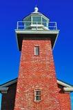 Santa Cruz, California, United States of America, Usa. The Mark Abbott Memorial Lighthouse on June 15, 2010. The Mark Abbott Memorial Lighthouse, at Lighthouse royalty free stock photography
