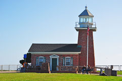 Santa Cruz, California, United States of America, Usa. The Mark Abbott Memorial Lighthouse on June 15, 2010. The Mark Abbott Memorial Lighthouse, at Lighthouse stock images