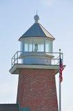 Santa Cruz, California, United States of America, Usa. The Mark Abbott Memorial Lighthouse on June 15, 2010. The Mark Abbott Memorial Lighthouse, at Lighthouse royalty free stock photo