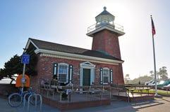 Santa Cruz, California, United States of America, Usa. The Mark Abbott Memorial Lighthouse on June 15, 2010. The Mark Abbott Memorial Lighthouse, at Lighthouse stock image