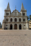 Santa Cruz Cathedral Basilica Church in Cochin Stock Images