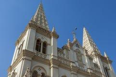 Santa Cruz Cathedral Basilica Church in Cochin royalty free stock photography