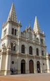 Santa Cruz Cathedral Basilica Church in Cochin royalty free stock image