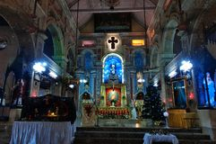 The Santa Cruz Cathedral Basilica at Fort Kochi Royalty Free Stock Photos