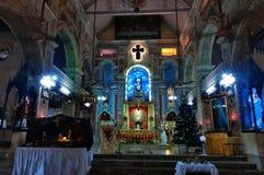 The Santa Cruz Cathedral Basilica at Fort Kochi Royalty Free Stock Photos