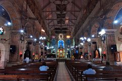 The Santa Cruz Cathedral Basilica at Fort Kochi Stock Images