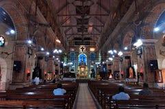 The Santa Cruz Cathedral Basilica at Fort Kochi Stock Images