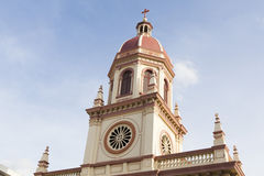 Santa Cruz Church Royalty Free Stock Images