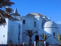 Santa Cruz church-Cadiz. Santa Cruz Church- Cadiz-Andalusia Spain Royalty Free Stock Photo