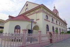Santa Cruz Church the Portuguese legacy Stock Image