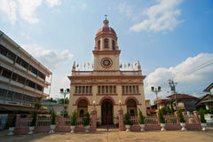 Santa Cruz Church (the Portuguese Legacy In Bangkok) Stock Photo